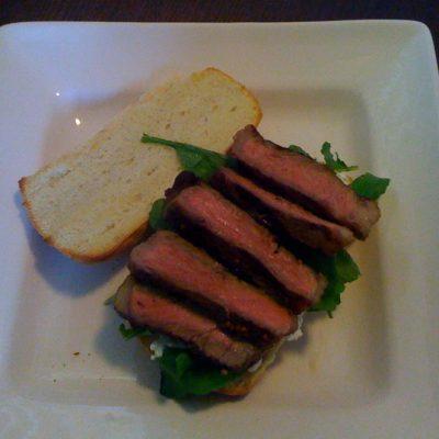 giadas steak sandwhich