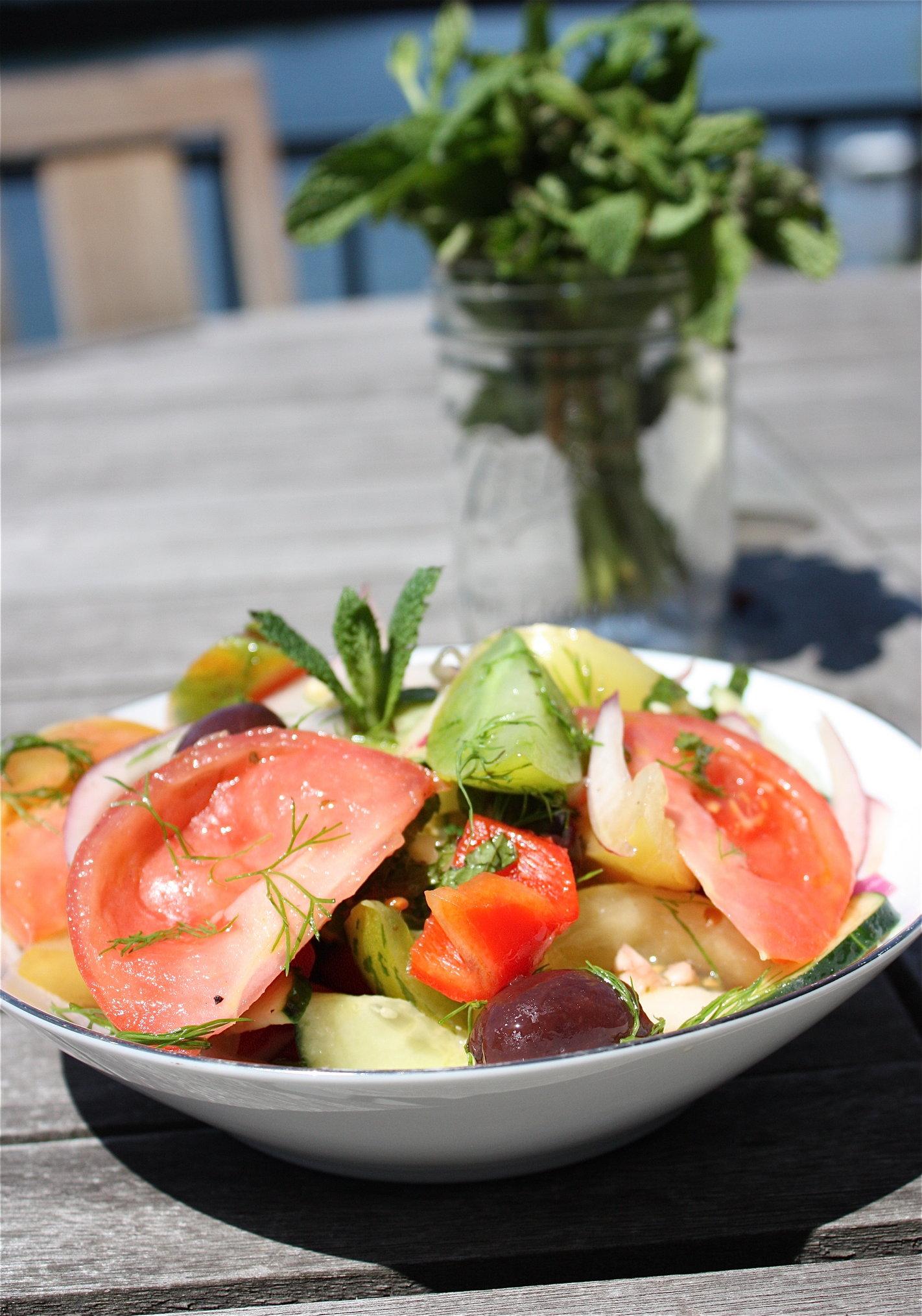 Michael Symon's Summery Tomato Salad