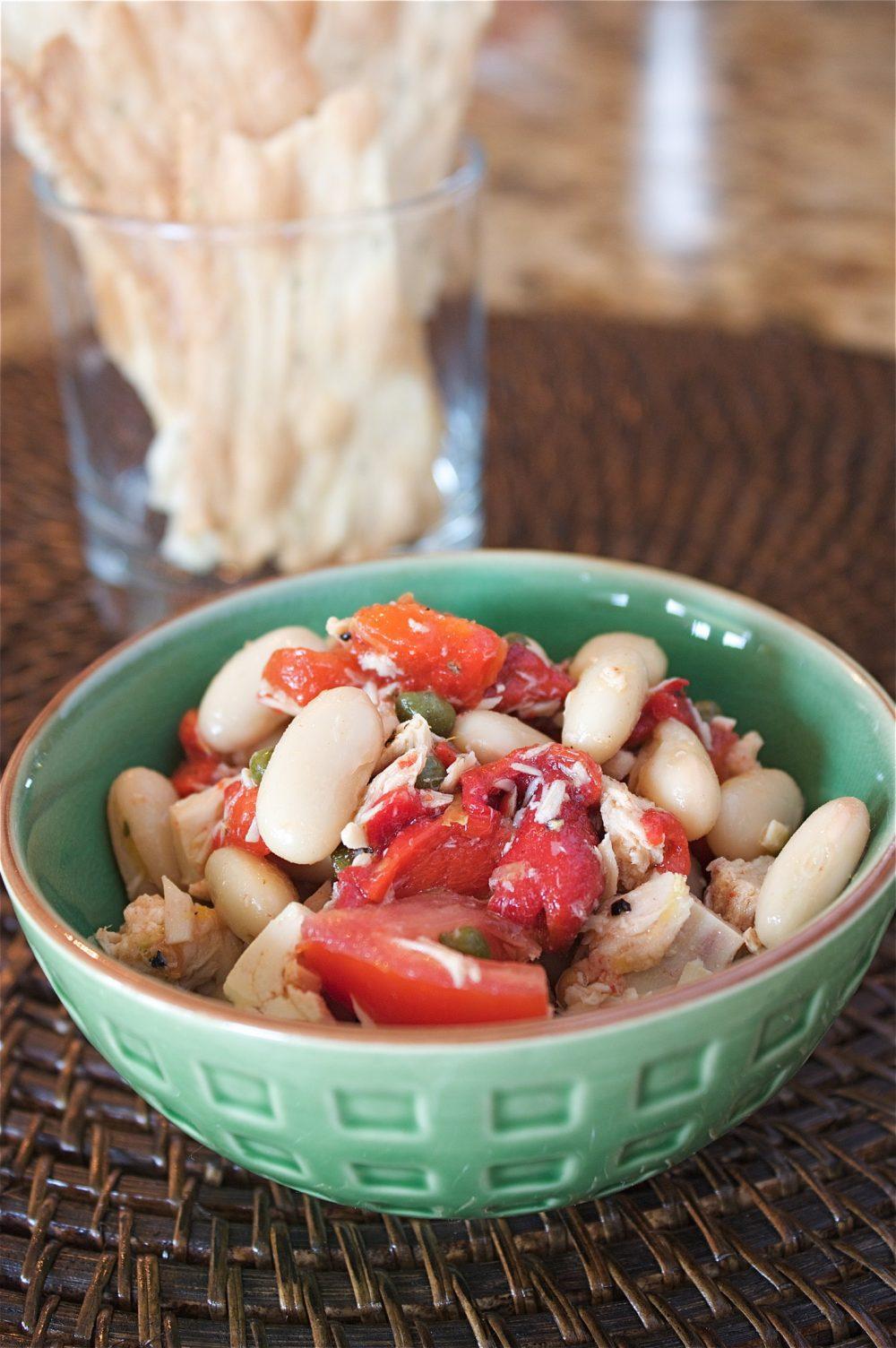 Big MouthfulLemony Tuna and White Bean Salad - A Big Mouthful