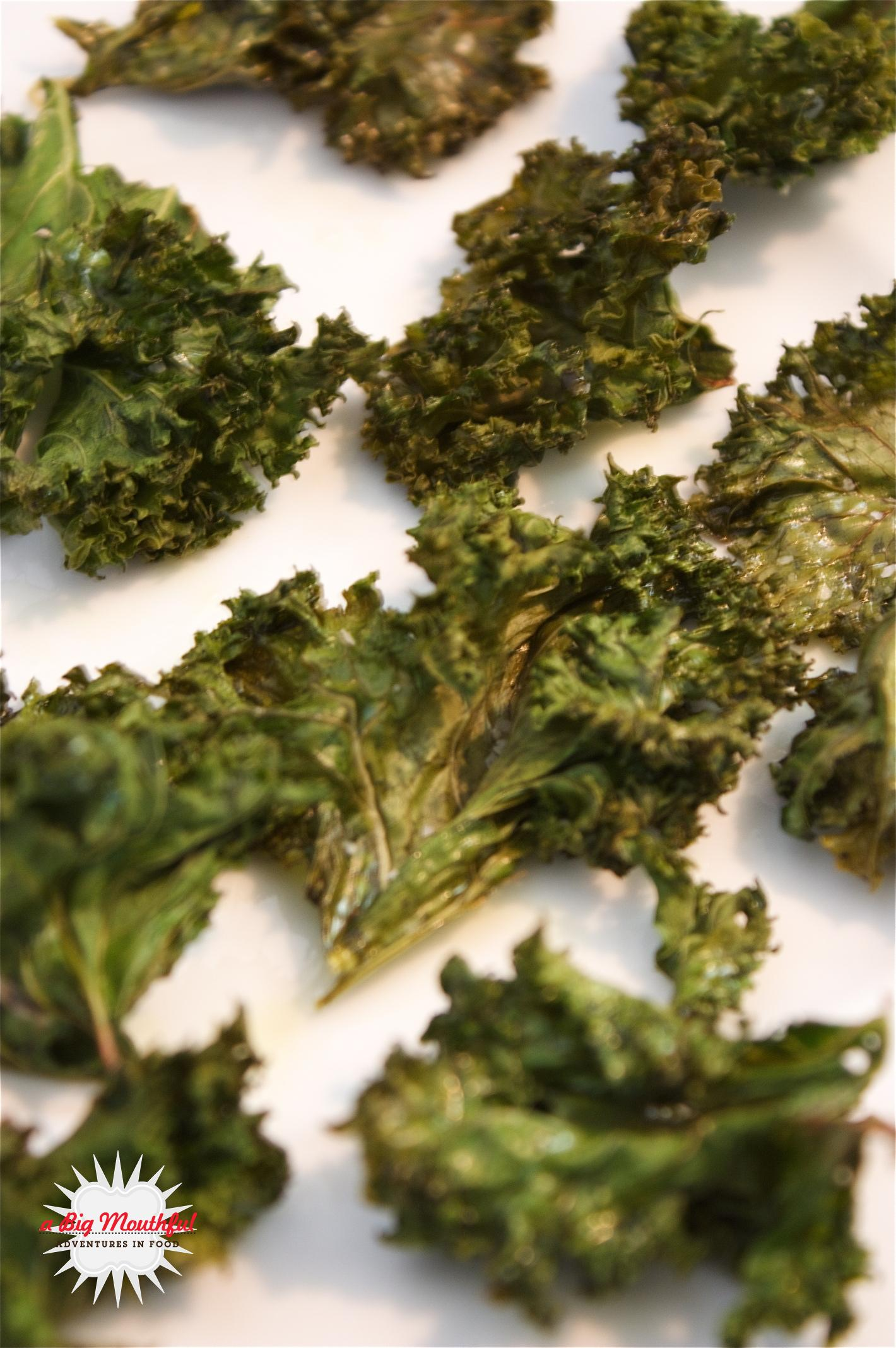 Easy Green Kale Chips