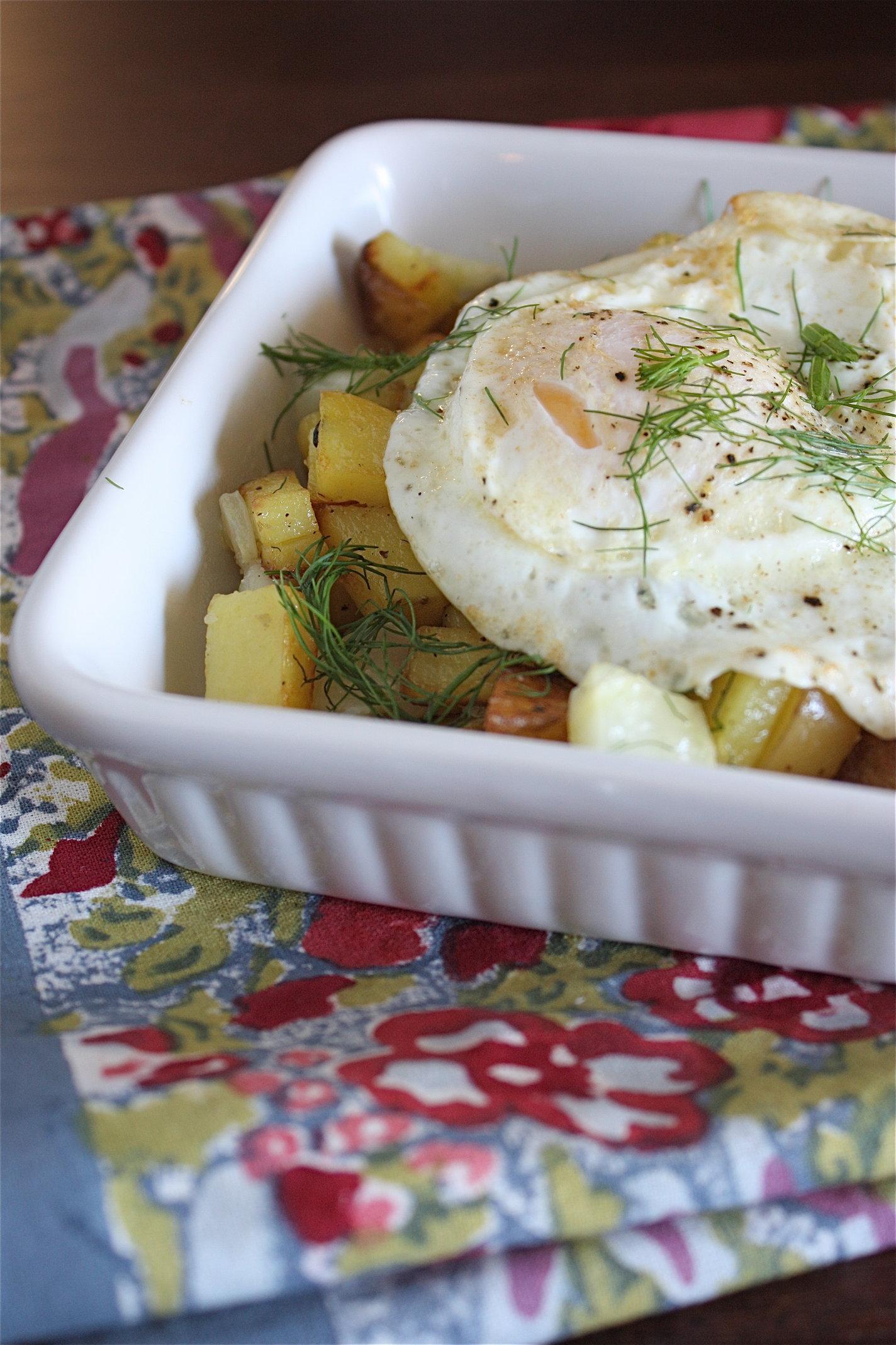 Potato Fennel Hash
