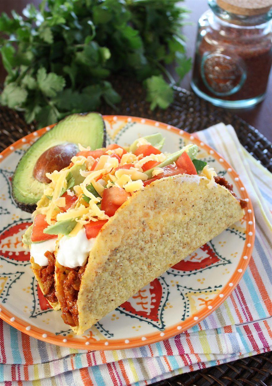 Homemade Taco Seasoning and Turkey Tacos