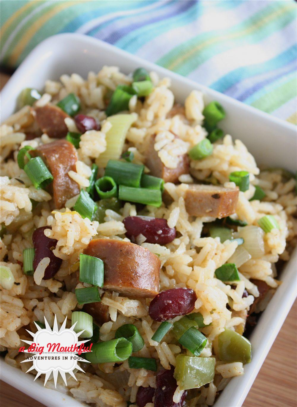 A Big MouthfulDirty Rice with Andouille Sausage - A Big ...
