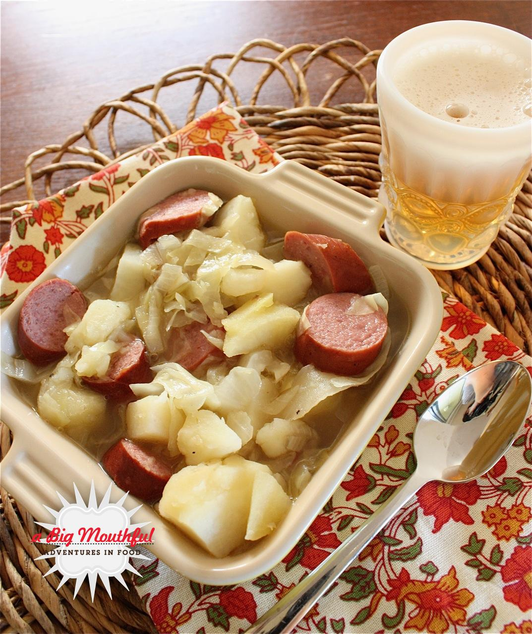 Oktoberfest Stew (Gluten Free Option)